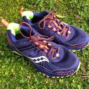 Saucony excursion TR 10 trail running shoe sz 6